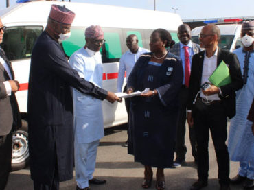 UN donates ambulances to Lagos State, restates solidarity with FG