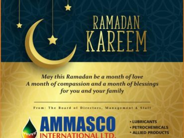 Ammasco Oil wishes Muslim Faithful Ramadan Kareem